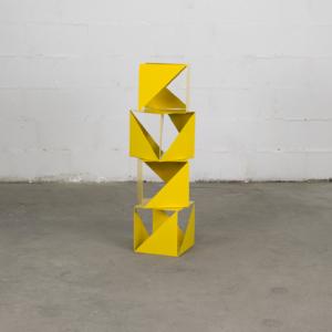 Cubos geométricos amarillos Metronomi